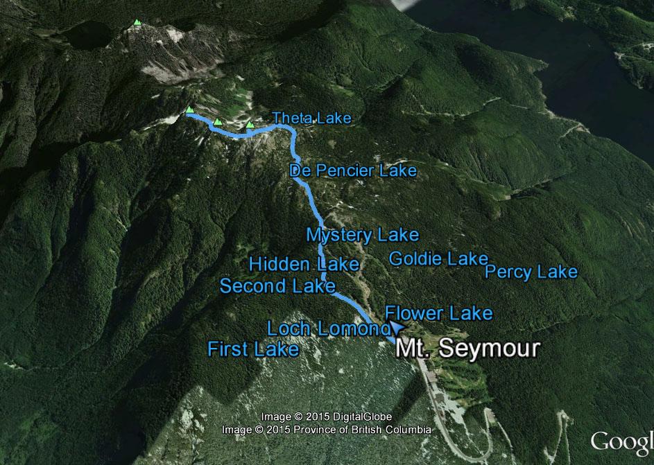 Mt. Seymour route