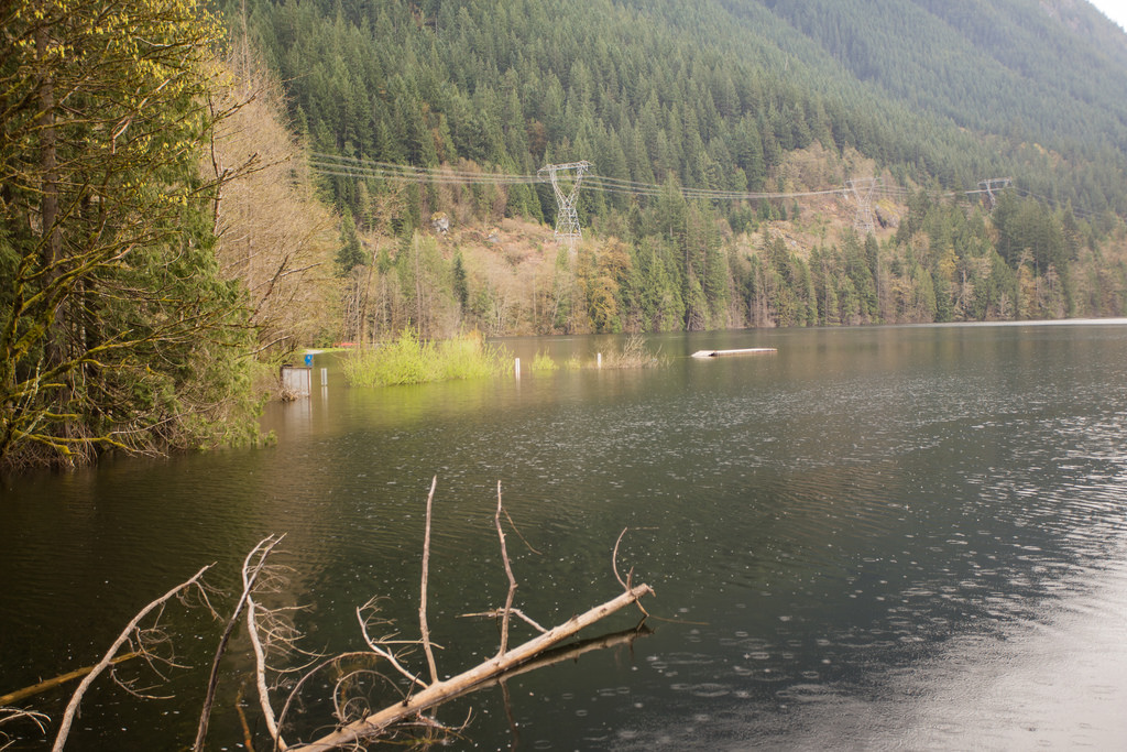 North Beach at Flooded Buntzen Lake2