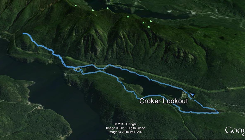 Croker route
