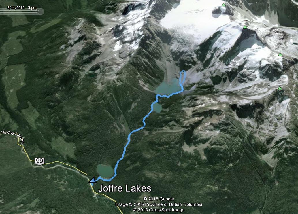 joffre lake route