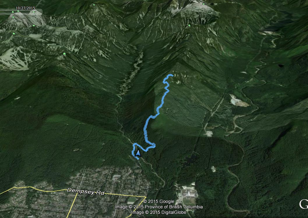Lynn Peak route