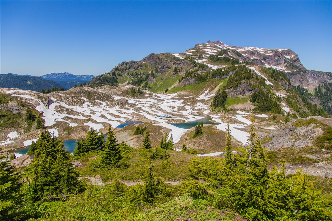 Meltwater lakes
