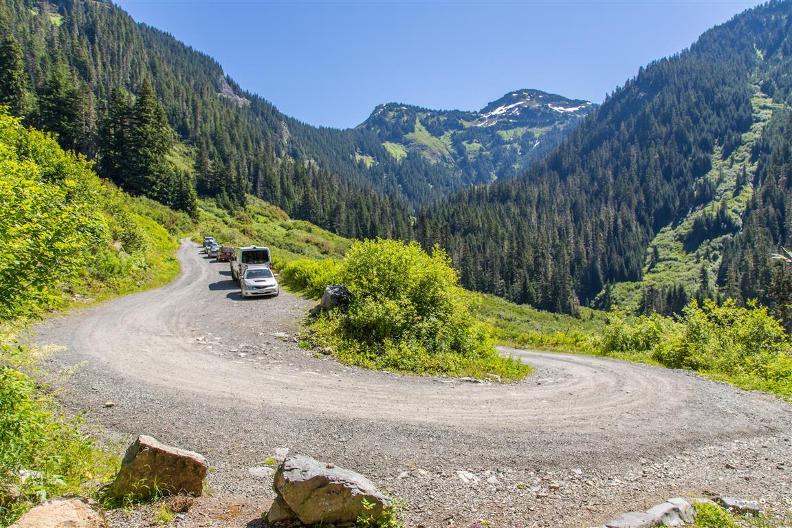 Road at Trailhead