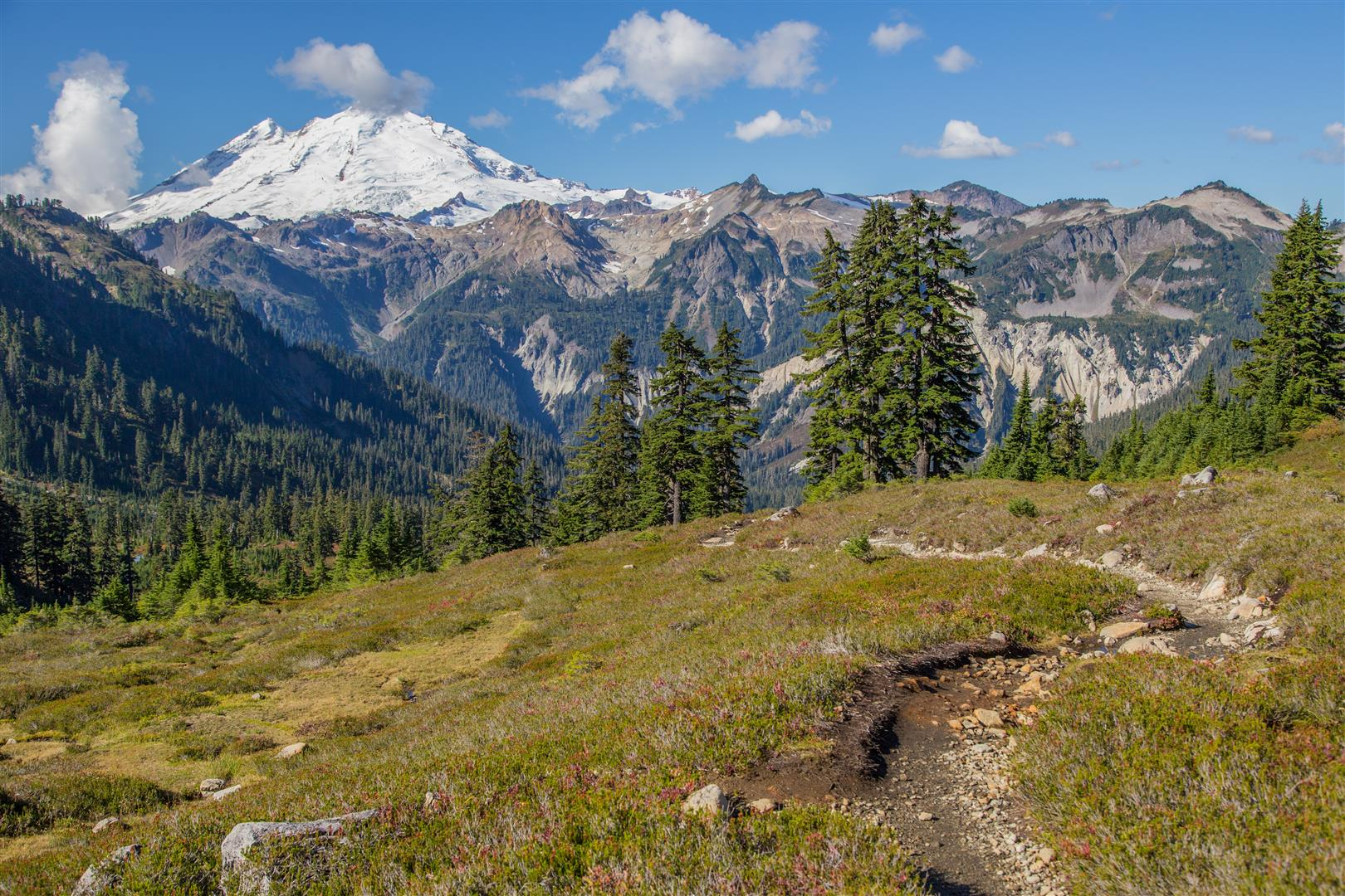 Trail and Mt. Baker