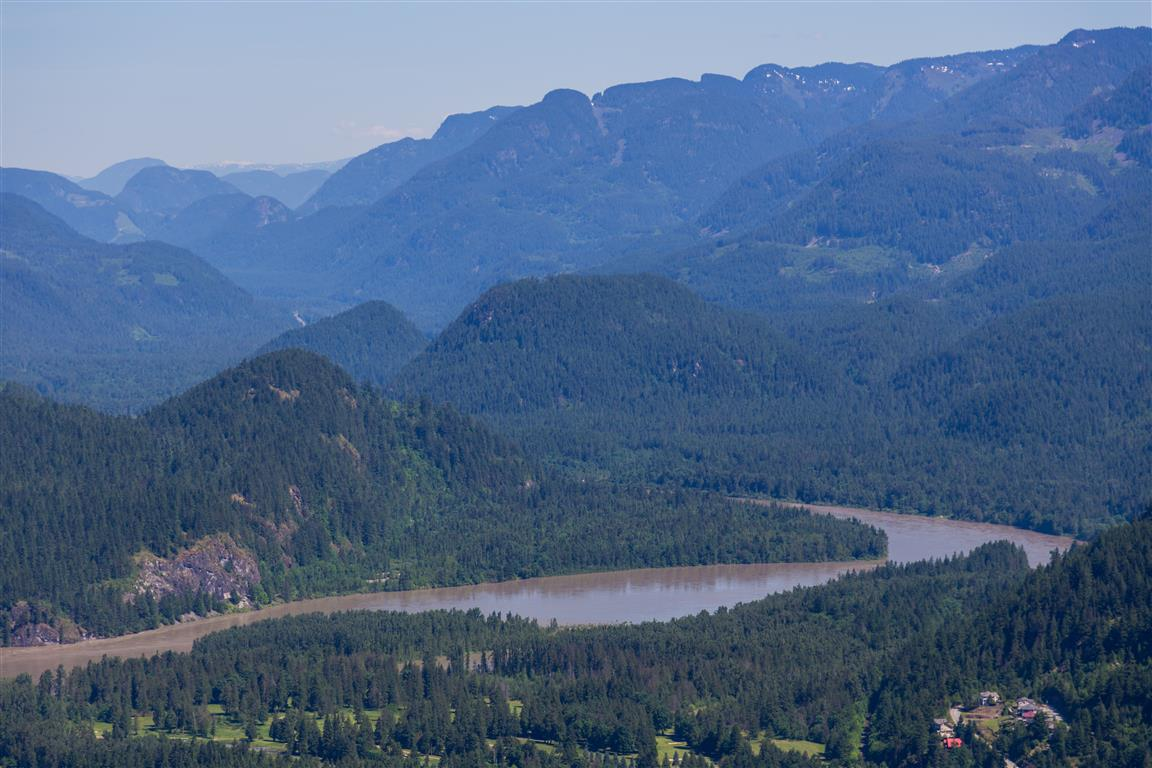 Bend in Fraser River