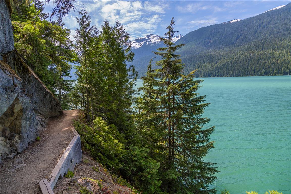Trail and Cheakamus Lake