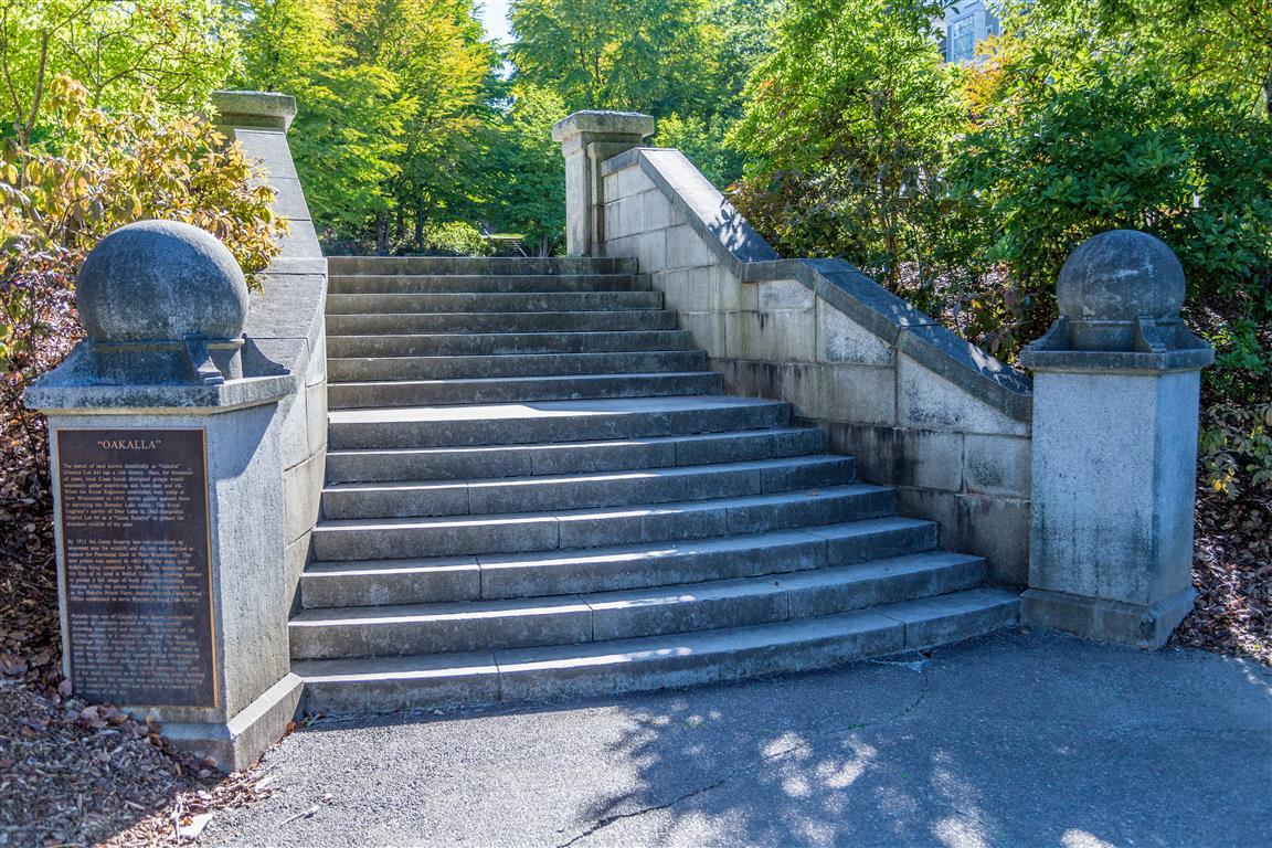 Oakalla Steps