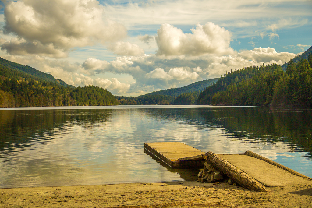 North Beach, Buntzen Lake