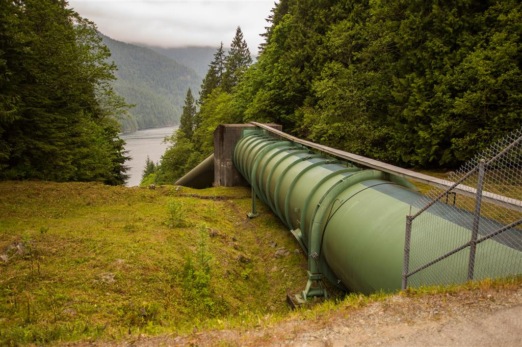 Buntzen Lake Aquiduct