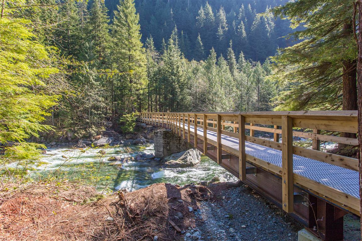 Gold Creek bridge