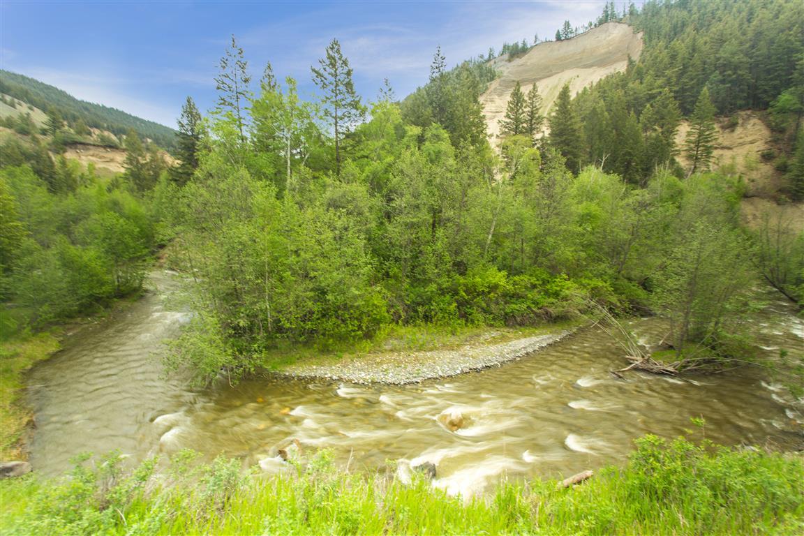 U-bend in River