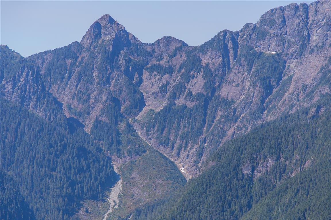 Edge peak and Evans Valley