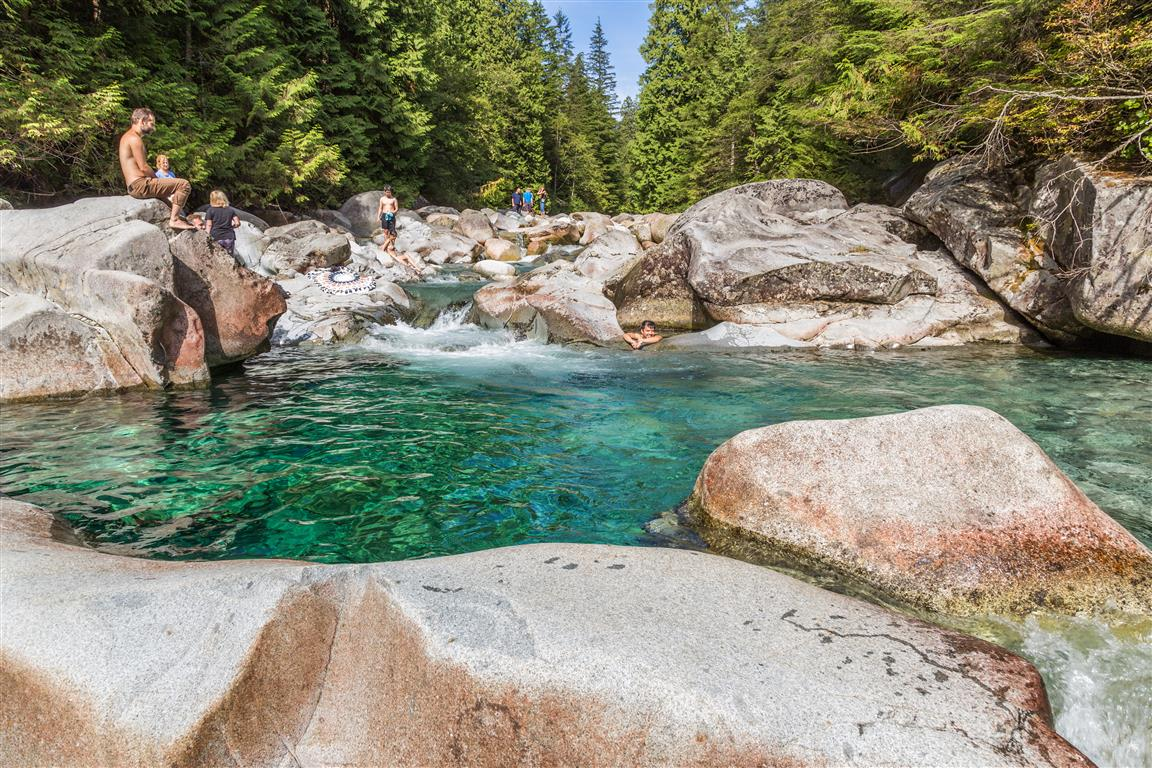A great swimming hole