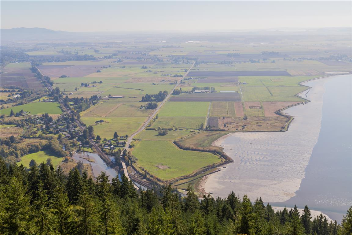 View from Samish Overlook